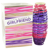Girlfriend Perfume by Justin Bieber-3.4 oz Eau De Parfum Spray