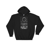 The Moon Tarot Hoodie Sweatshirt