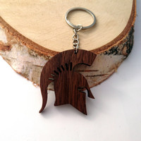 Wooden Spartan HELMET Keychain, Spartan warrior Keychain, Spartan  Keychain, Walnut Wood, Friendly Green materials