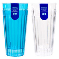 Bulk Plastic Tumblers, 18.3-oz., 2-ct. Packs at DollarTree.com