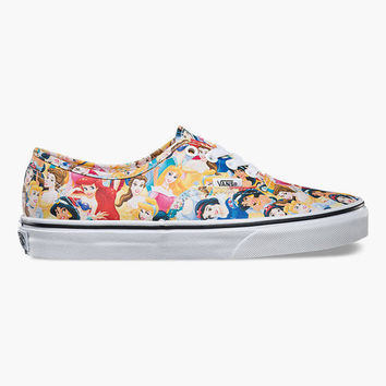 f94462762f Vans Disney Multi Princess Authentic Womens Shoes Multi In Sizes