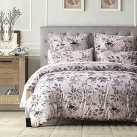 2-4 Pieces Polyester Cotton Bedding Set Duvet Cover set Bed cover Pillowcase Single Double Twin Queen King Family