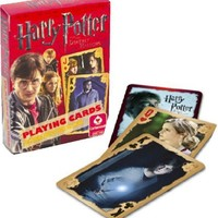 Harry Potter & Deathly Hallows Playing Cards Poker Style by Cartamundi