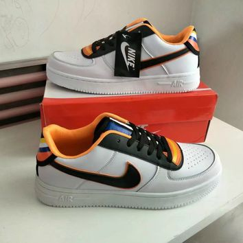 """""""Nike Air Force 1 x Givenchy"""" Unisex Sport Casual Low Help Plate Shoes Couple Fashion Sneakers"""