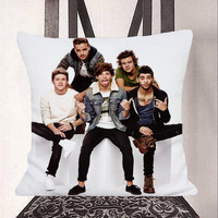 Where Do Broken Hearts Go, One Direction Pillow, Bedroom Pillow, Sofa Pillow, One Side or Two Side
