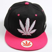 Weed Leaf Snap Back