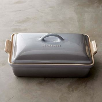 Le Creuset Heritage Stoneware Rectangular Covered Casserole