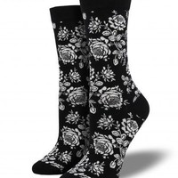 Bamboo Floral Bouquet Socks