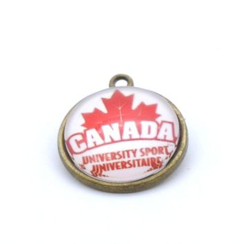 Pendant Accessories NHL Canada Men's National Charms Accessories for Bracelet Necklace for Women Men Ice Hockey Fans Paty 2017