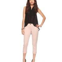 Essential Cuffed Ankle Pants