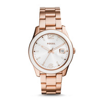 Perfect Boyfriend Three-Hand Watch | Fossil