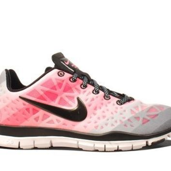 Nike Wmns Free TR Fit 3 PRT White Pearlized Pink (555159-100)