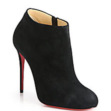 Christian Louboutin - Bellissima Suede Booties - Saks Fifth Avenue Mobile