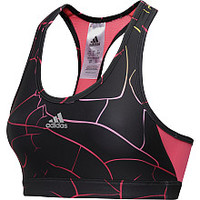 adidas Women's TechFit Shatter-Print Sports Bra
