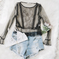 Kurstie Mesh Top (Black)
