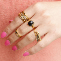Vintage Copper Light As A Feather Ring Engagement Ring DIY Jewelry for Women Compatible with Stone Ring Jewelry 619M