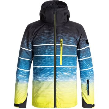 Quiksilver Boy's 8-16 Mission Engineered Snow Jacket