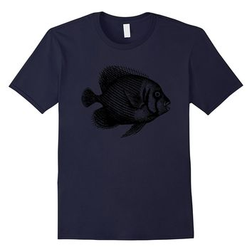 Fish tropical simple graphic t-shirt