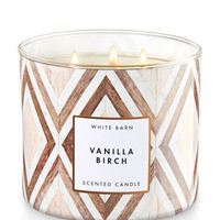 Vanilla Birch 3-Wick Candle | Bath And Body Works