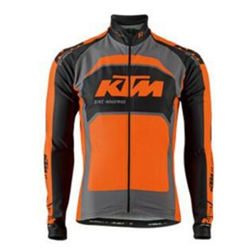 KTM Pro Team Cycling Jersey MTB bicycle Long Sleeve shirts Ropa Ciclismo 2017 Men Mountaion Bike Clothes racing sports wear F211
