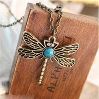 Game of Thrones Necklace Song of Ice and Fire Sansa Stark Vintage Dragonfly Pen