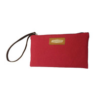 CANVAS CLUTCH | Red