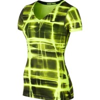 Nike Women's Pro Printed Core Short Sleeve Shirt | DICK'S Sporting Goods