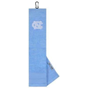 Licensed Golf New Team Effort North Carolina Tar Heels Embroidered Microfiber Towel