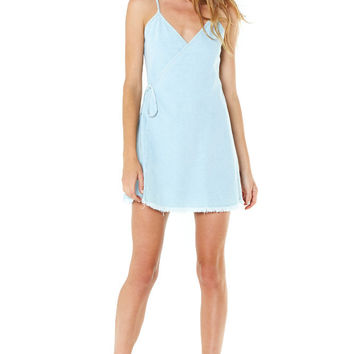 Wild One Wrap Denim Dress