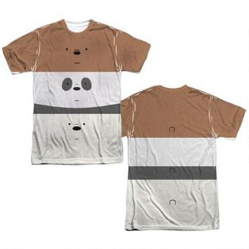 We Bare Bears Bear Stack Adult Sublimation Allover Print T-Shirt | CartoonNetworkShop.com