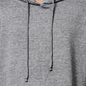 LA Hearts Burnout Cropped Pullover Hoodie at PacSun.com