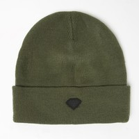 Diamond Supply Co Diamond Patch Beanie - Womens Hat