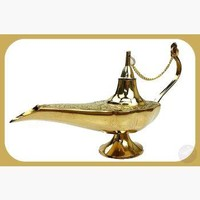 Aladdin Lamp Incense Burner