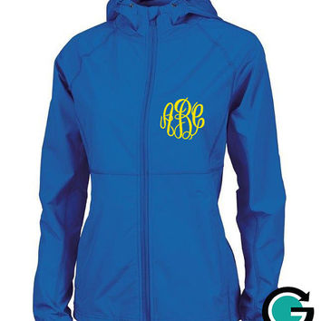 CUSTOM Monogram Latitude Jacket -- Show off your Greek (Sorority or Fraternity) Letters or Initials!