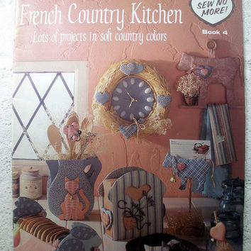 French Country Kitchen Ideas Leisure Arts 1987 Leaflet 1093