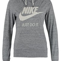 Nike Sportswear GYM VINTAGE - Sweatshirt - carbon/sail - Zalando.co.uk