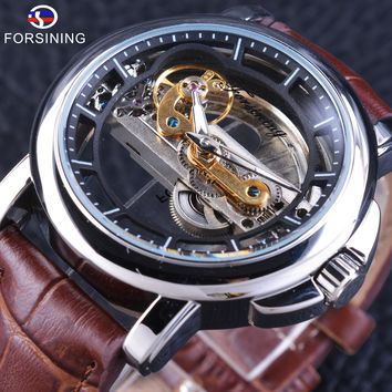 Forsining GMT1038 Mechanical Skeleton Watch