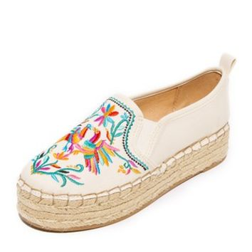 Carrin II Embroidered Espadrilles