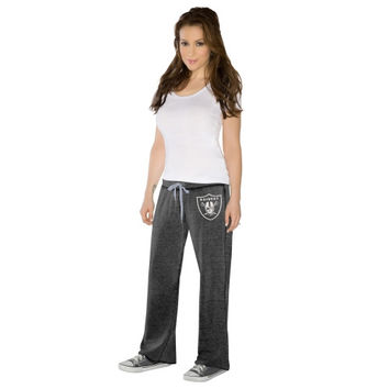 Touch By Alyssa Milano Oakland Raiders Ladies Star Player Pants - Black