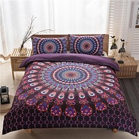 Dream NS Mandala Bedding Posture Million Romantic Soft Bedclothes Plain Queen Boho 3Pcs drap de lit Favorite Bohemia