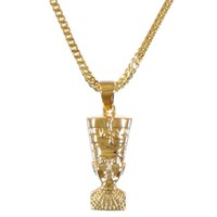 The Gold Gods Nefertiti Piece Necklace