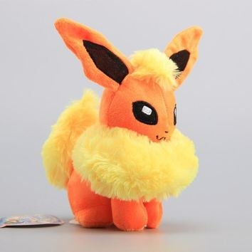 "8"" Flareon Pokemon Plush"