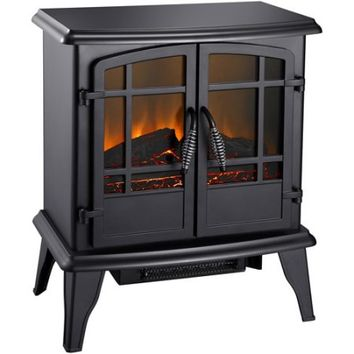 "Pleasant Hearth 20"" Electric Stove, Matte Black, SES-41-10 - Walmart.com"