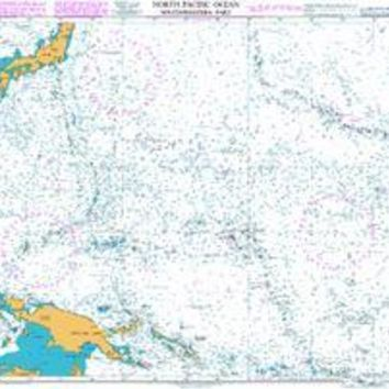British Admiralty Nautical Chart  4052: North Pacific Ocean Southwestern Part