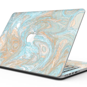 Slate Marble Surface V28 - MacBook Pro with Retina Display Full-Coverage Skin Kit