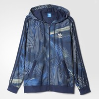 adidas Blue Geology Windbreaker - Multicolor | adidas US