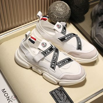 MONCLER  Fashion Men Casual Running Sport Shoes Sneakers Slipper Sandals