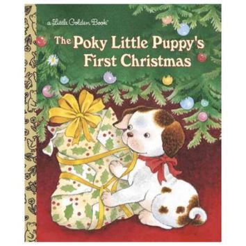 The Poky Little Puppys First Christmas (Little Golden Book) - Walmart.com