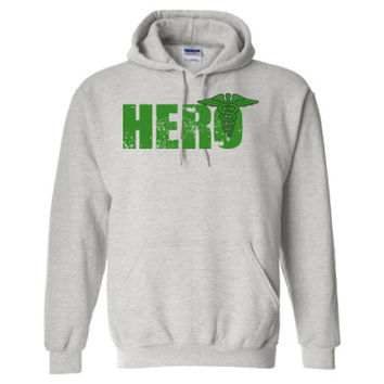 Paramedic Hero - Heavy Blend™ Hooded Sweatshirt