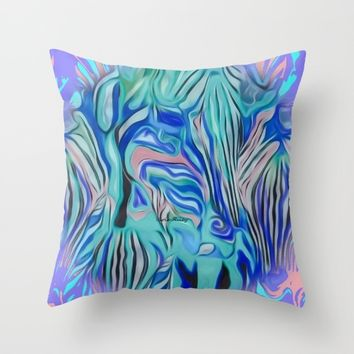 Nicce Throw Pillow by violajohnsonriley